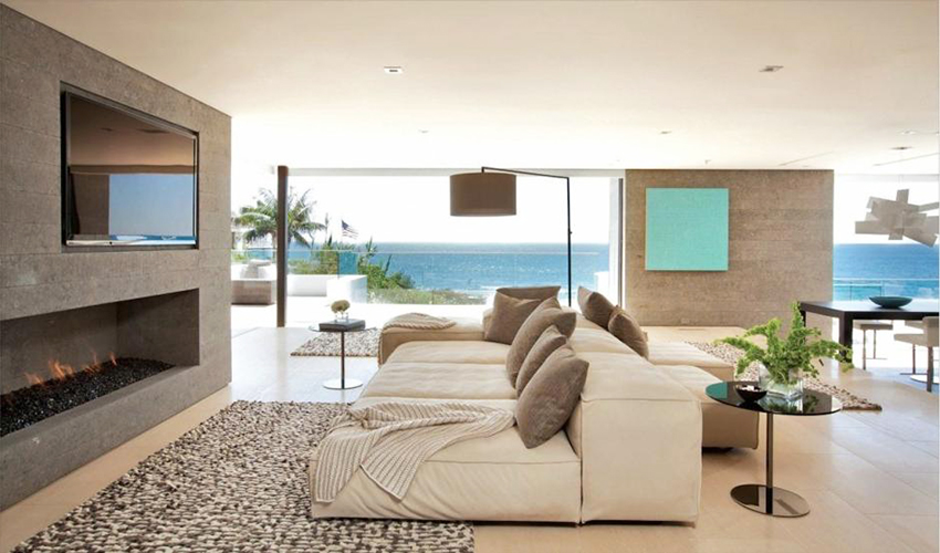 How you can provide beach interior decor in homes shine for Beach interior decorating ideas