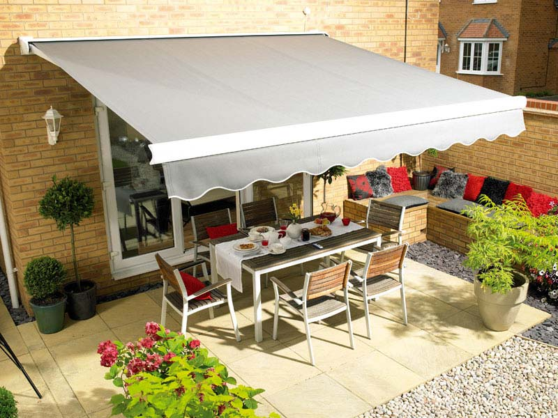 patio u awnings outdoor arm retractable gold folding coast c external awning select blinds angled