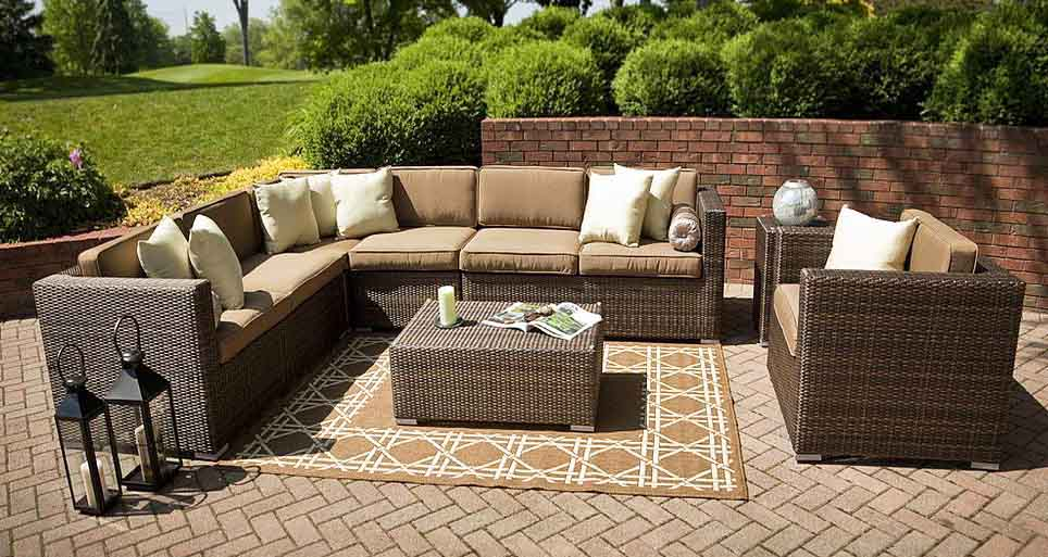 how to winterize your patio furniture. - Coral Coast Terra Cotta Mosaic Bistro Set Outdoor Bistro Sets At