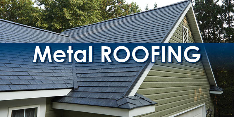 Image result for Make Your Roof Gleam by Installing New Metal Roofing