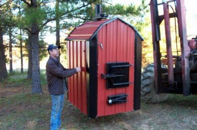 best outdoor wood furnace