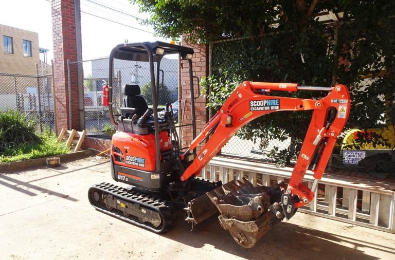 Machinery used in landscaping projects