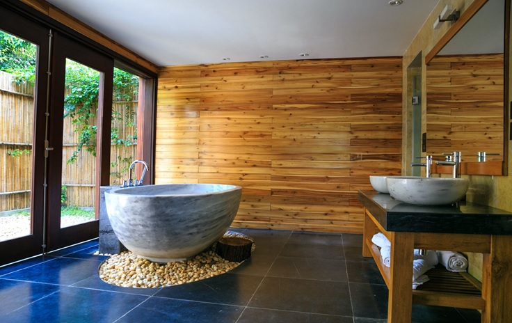 Usage of wooden cladding